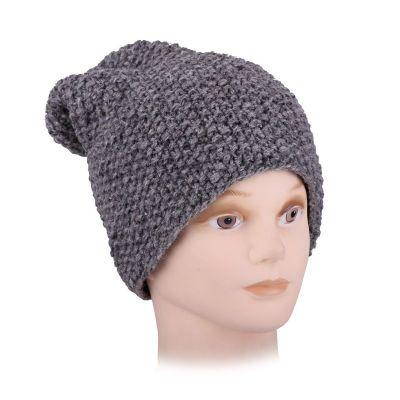 Woolen hat Istri Grey