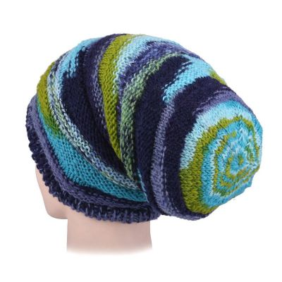 Woolen hat Ulat Turquoise