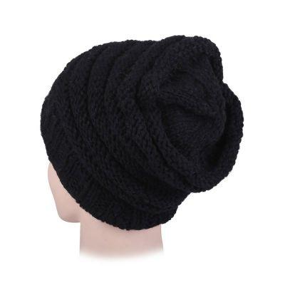 Woolen hat Ladang Black