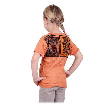 T-shirt Sure Animal X-Ray Orange