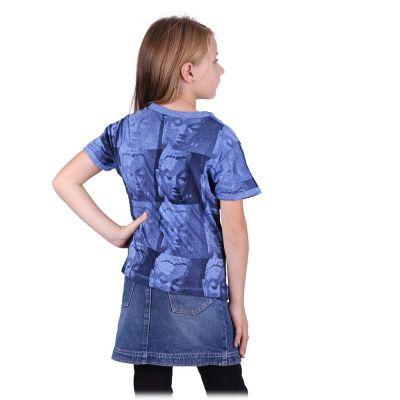 T-shirt Sure Buddha Blue