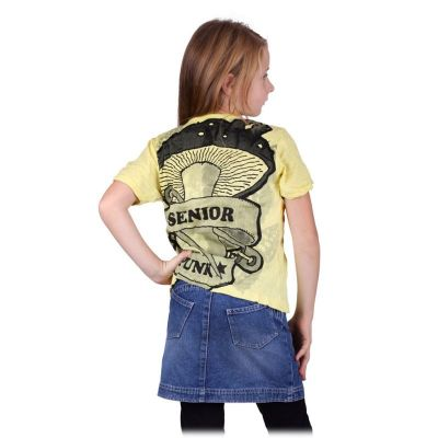 T-shirt Sure Senior Punk Yellow