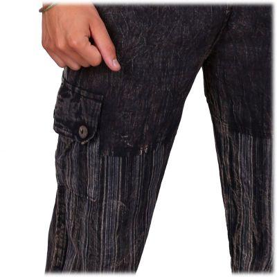 Men's cotton trousers Kirtipur Hitam Nepal