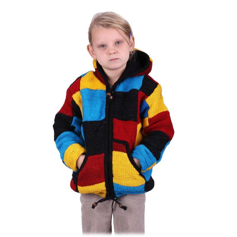 Woolen sweater Colour Cubes