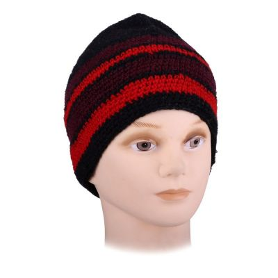 Hat Datar Red Stripes