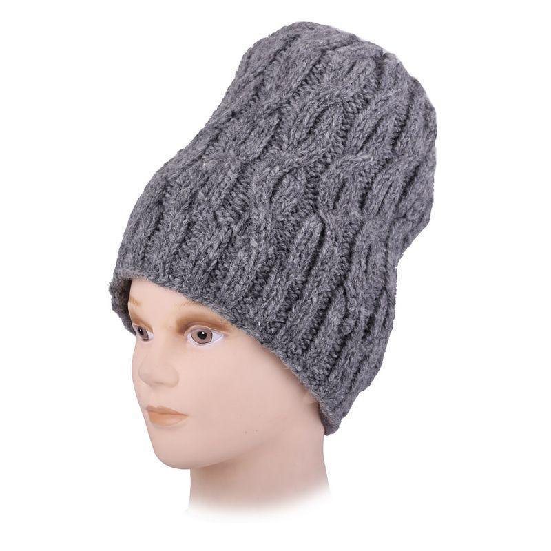 Woolen hat Lembu Gray