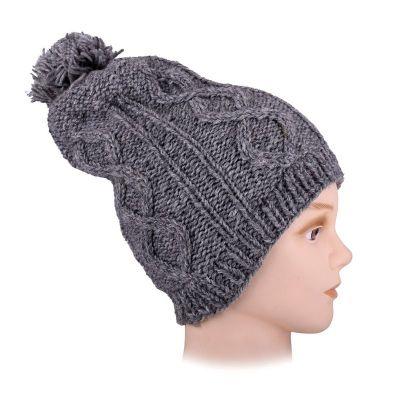 Woolen hat Lembar Grey