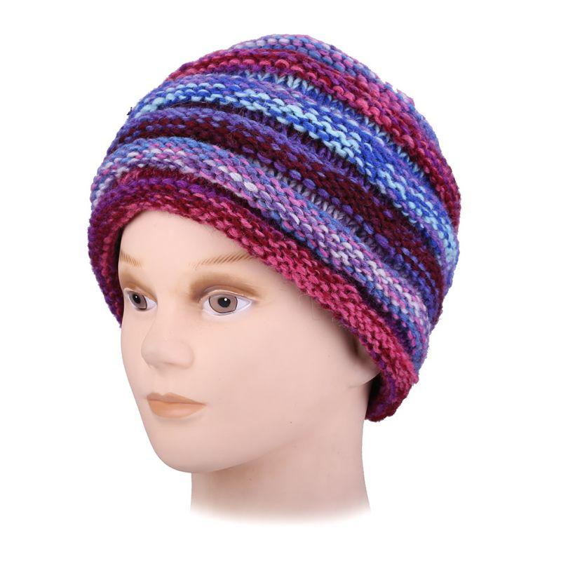 Woolen hat Sawah Ungu