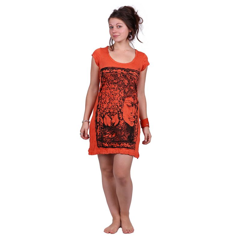 Dress (tunic) Sure Buddha's Garden Orange