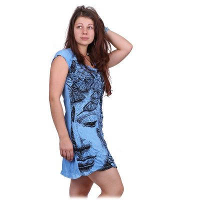 Dress Sure Buddha's Butterflies Blue | S, M, L, XL