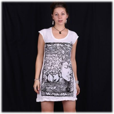 Dress Sure Buddha's Garden White