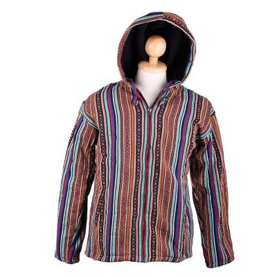 Jacket Garis Jeruk