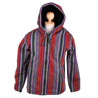 Men's Jacket Garis Merun