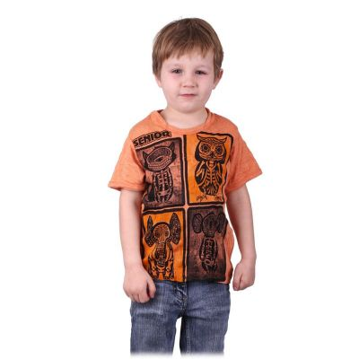 T-shirt Sure Animal X-Ray Orange
