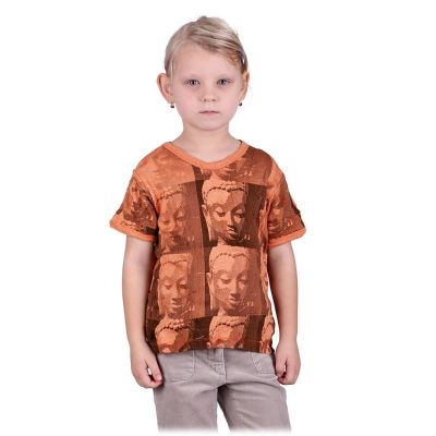 T-shirt Sure Buddha Orange
