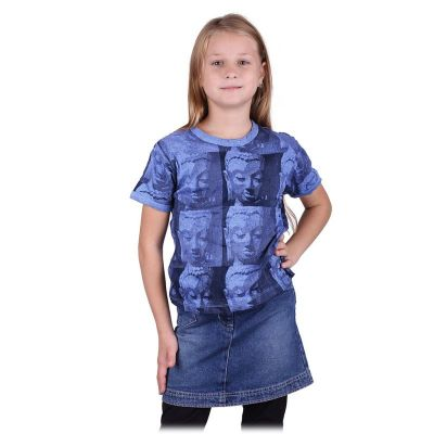 T-shirt Sure Buddha Blue
