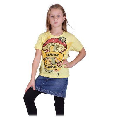 T-shirt Sure Senior Punk Yellow | M, L