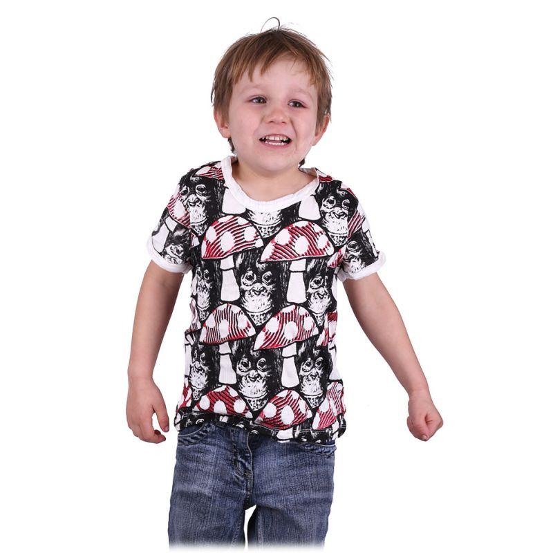 T-shirt Sure Chimpanzee White