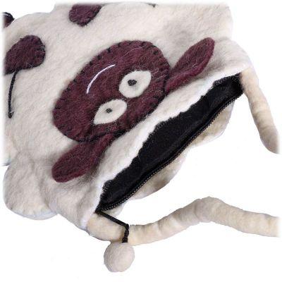 Felt handbag Sheep