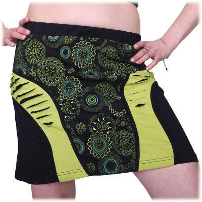 Short skirt Mandala Hijau