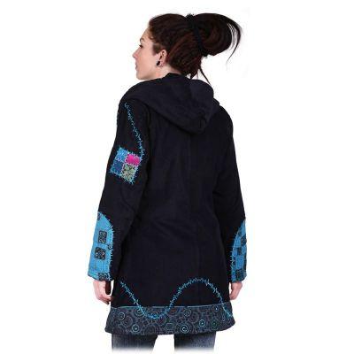 Jacket Tambalan Pirus