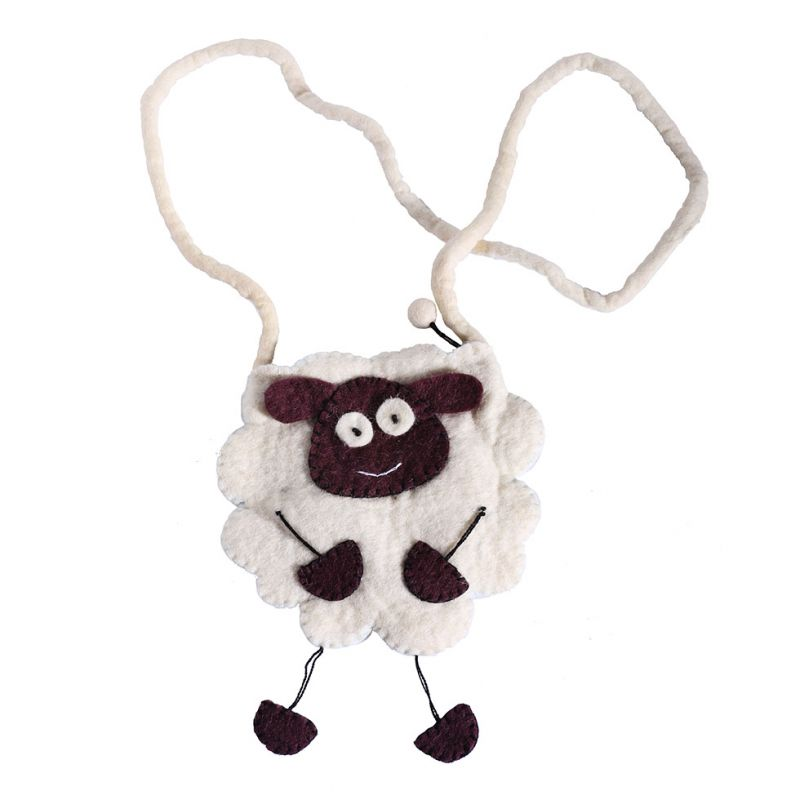 Felt handbag Sheep