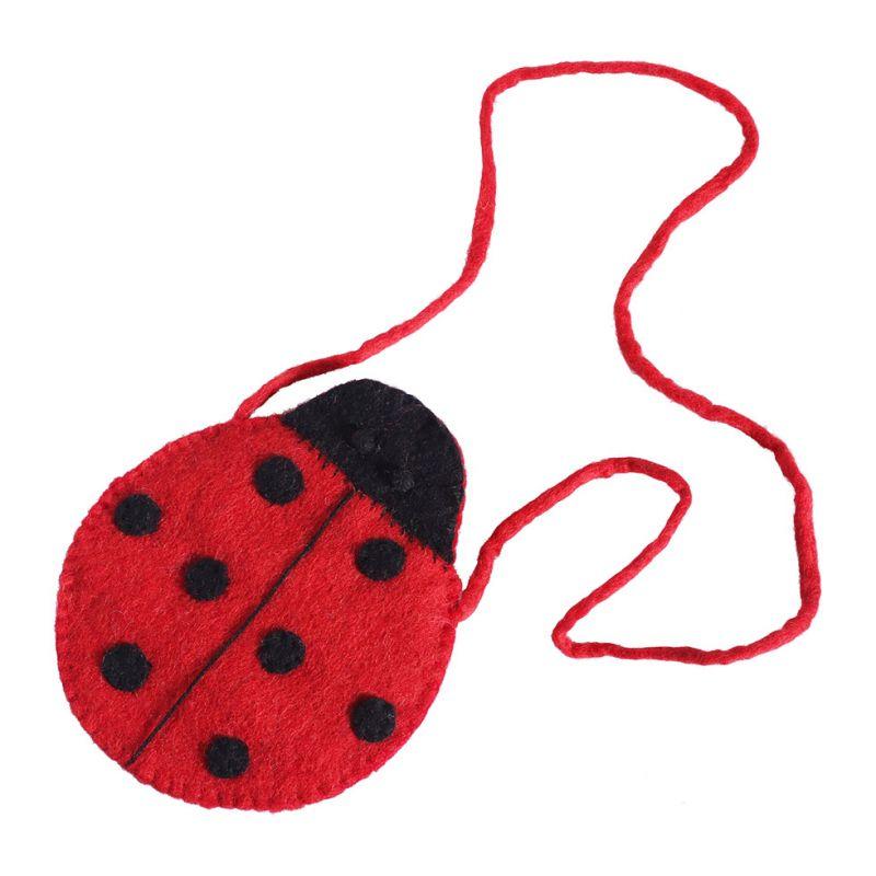 Felt handbag Ladybug