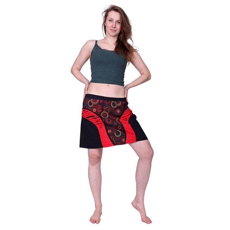 Short skirt Mandala Merah