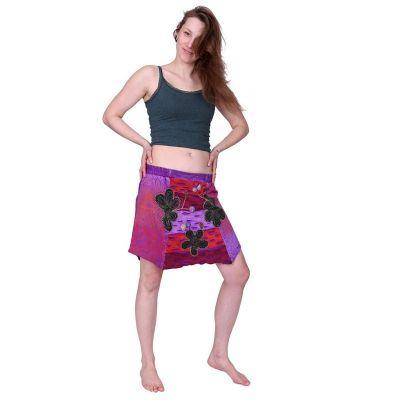 Skirt Taman Ungu