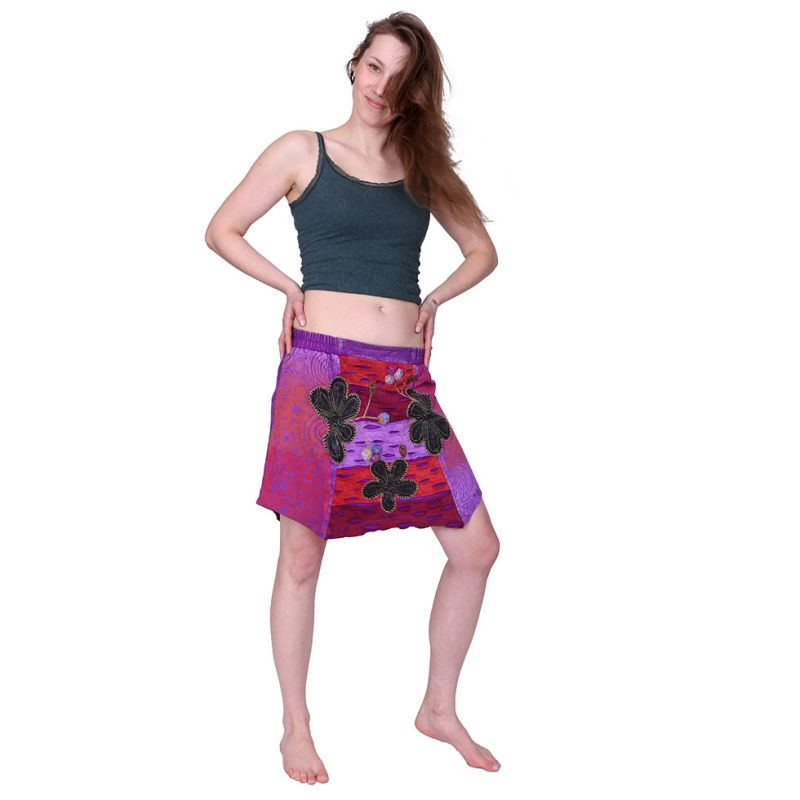 Short skirt Taman Ungu