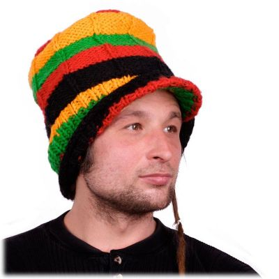 Hat Rasta Long with a bill