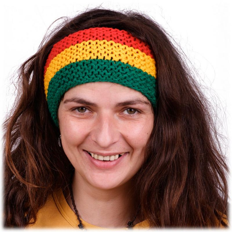 Headband Green-Yellow-Red