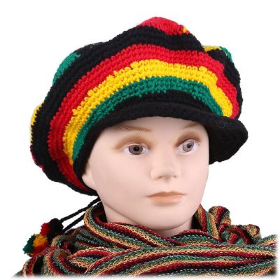 Beret Rasta Round with a bill