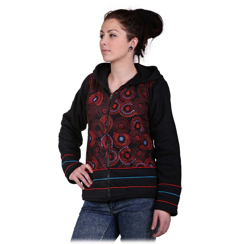 Warm Jacket Hangat Merah
