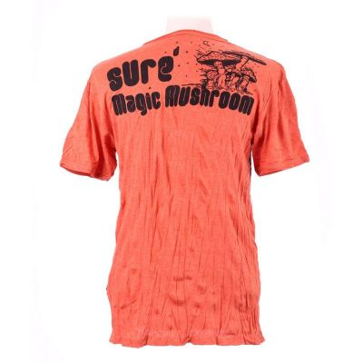 Men's t-shirt Sure Magic Mushroom Orange