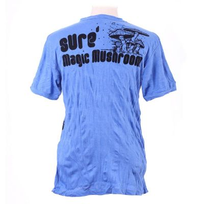 Men's t-shirt Sure Magic Mushroom Blue