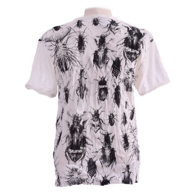 Men's t-shirt Sure Bugs White