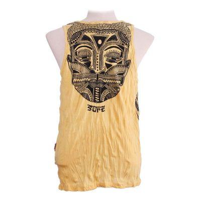 Men's tank top Sure Khon Mask Yellow