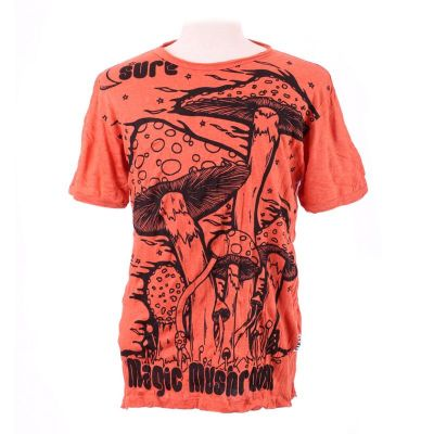 T-shirt Magic Mushroom Orange