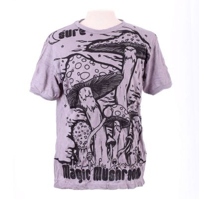 T-shirt Magic Mushroom Grey