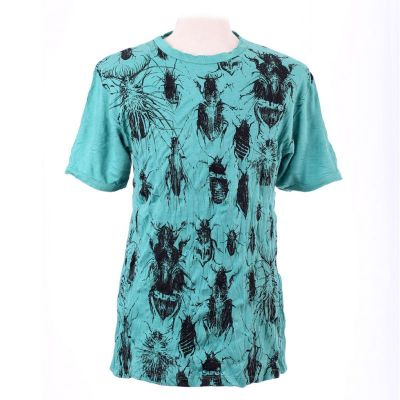 Men's t-shirt Sure Bugs Turquoise