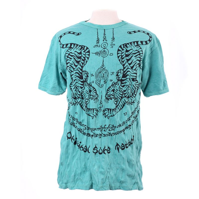 Men's t-shirt Sure Tigers Turquoise
