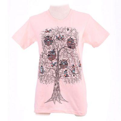 T-shirt Birds Assembly Light Pink