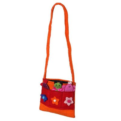 Handbag Animals Orange