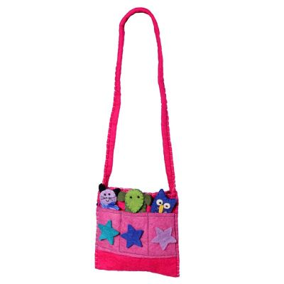 Handbag Animals Pink