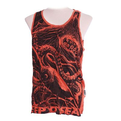 Tank top Sure Octopus Orange