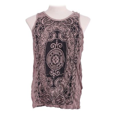 Tank top Sure Stained Glass Brown