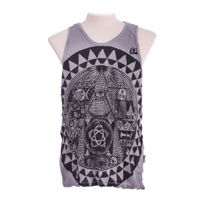 Men's tank top Sure Pyramid Grey