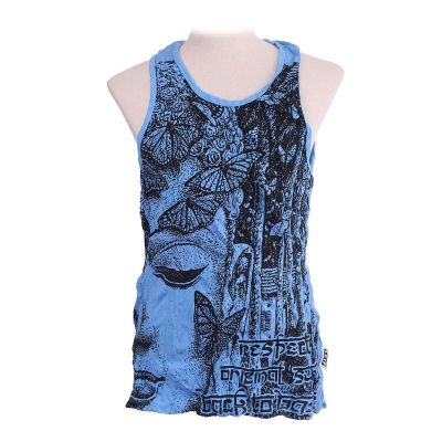 Tank top Sure Buddha's Butterflies Blue