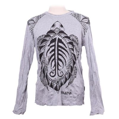 T-shirt Turtle Grey - long sleeve